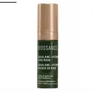 Biossance Squalane + Vitamin C Rose Mask Sample